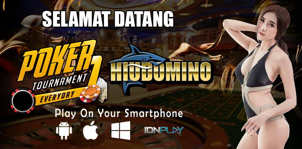 HIUDOMINO - Situs Poker BRI Online 24 Jam