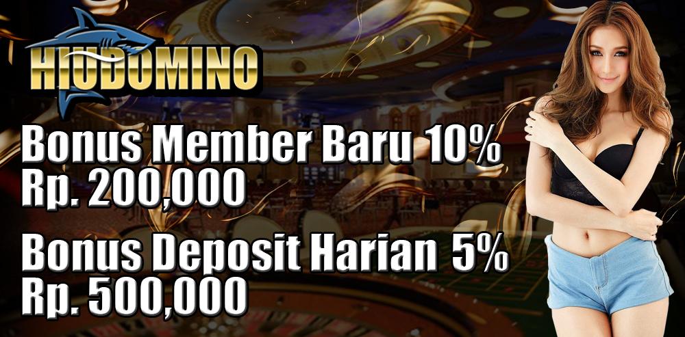Agen Poker Terbaik HIUDOMINO