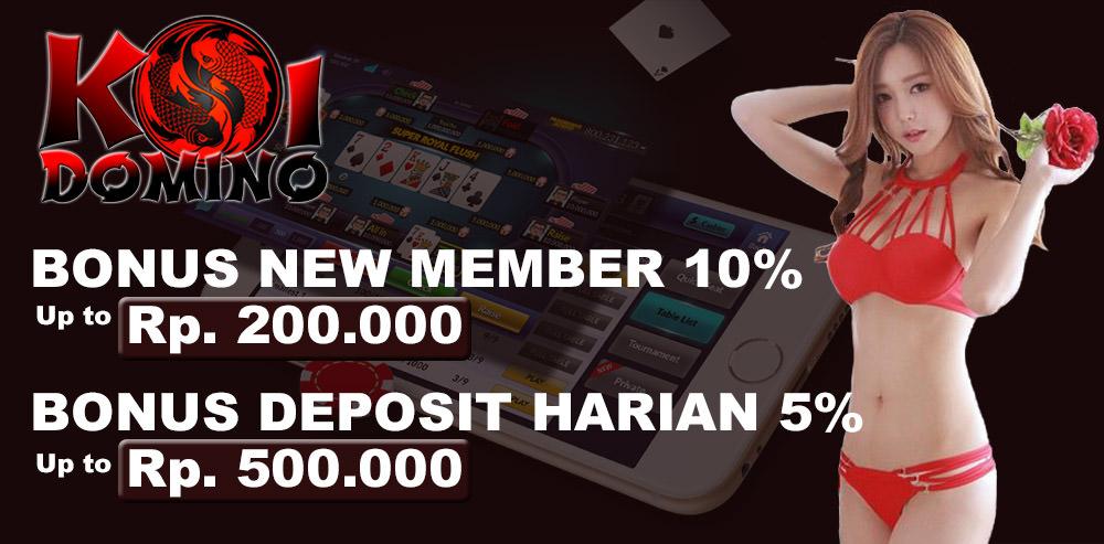 KOIDOMINO Agen Poker Resmi Indonesia