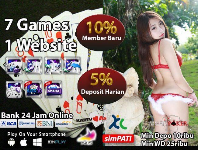 Situs Poker Deposit Pulsa Rate Terendah Indonesia