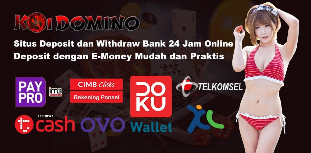 Daftar Situs Ceme Terbaik Deposit Via E Money (Gopay, Ovo, Linkaja, Dana)
